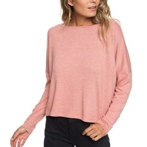 ROXY Your Time Long Sleeve Top Size SMALL